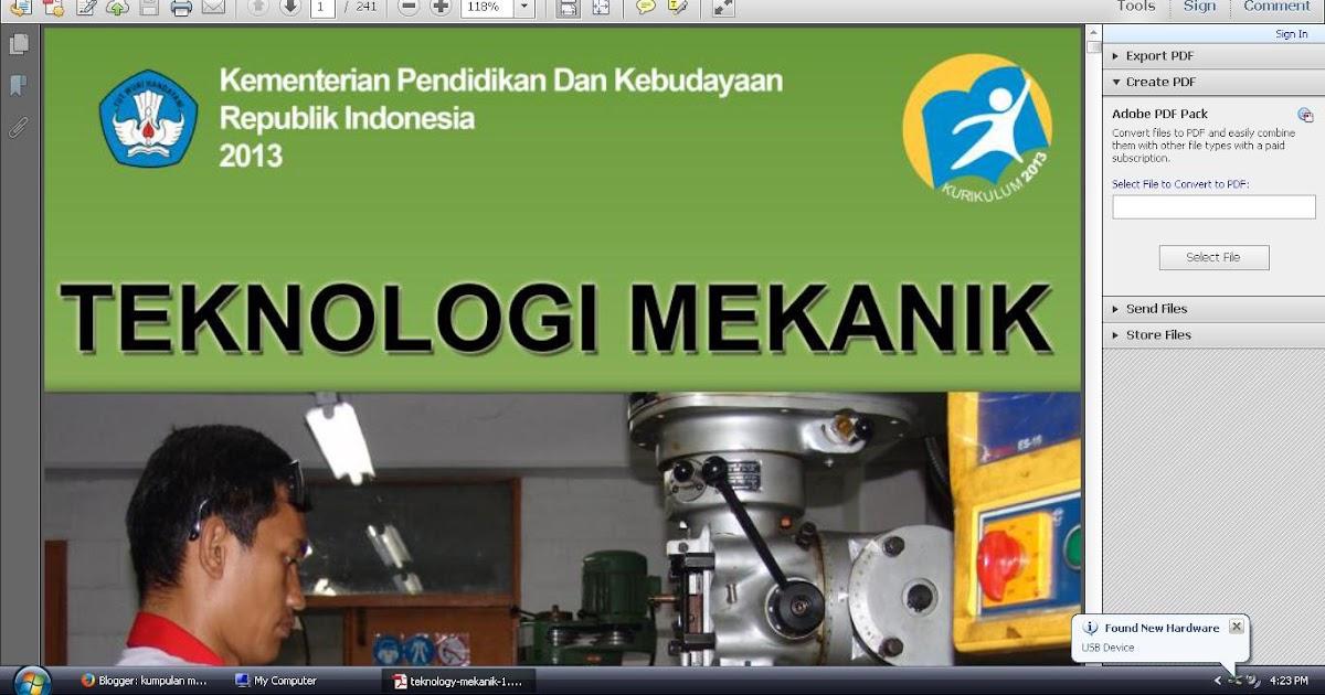 Download Buku Paket Elektronik Teknologi Mekanik Kelas X