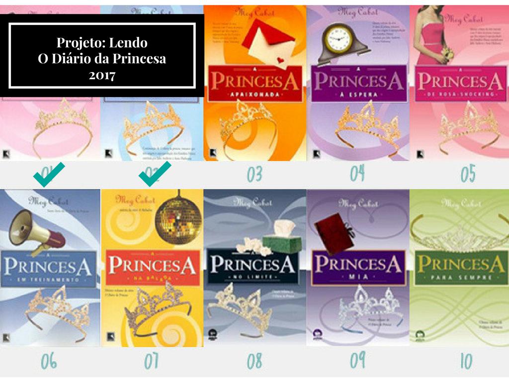 Projeto Lendo O Diário da Princesa 2017