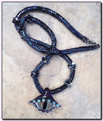 N'debele necklace by Tamera Mickelson