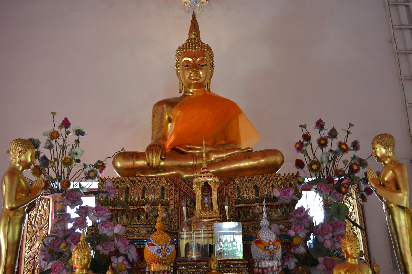 Bangkok, Thailande, voyage, temple, bouddha