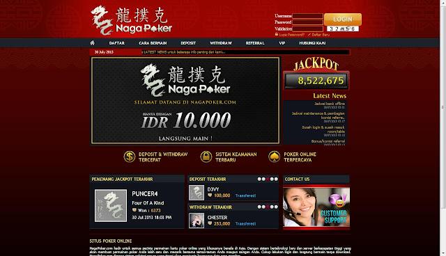 Daftar Poker Online Uang Asli NagaPoker