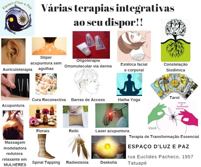 Espaço d'Luz e Paz Terapias Holísticas no Tatuapé