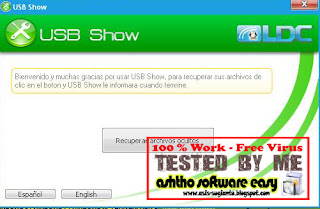 USB Show - Kembalikan Hidden File di Flash Disk