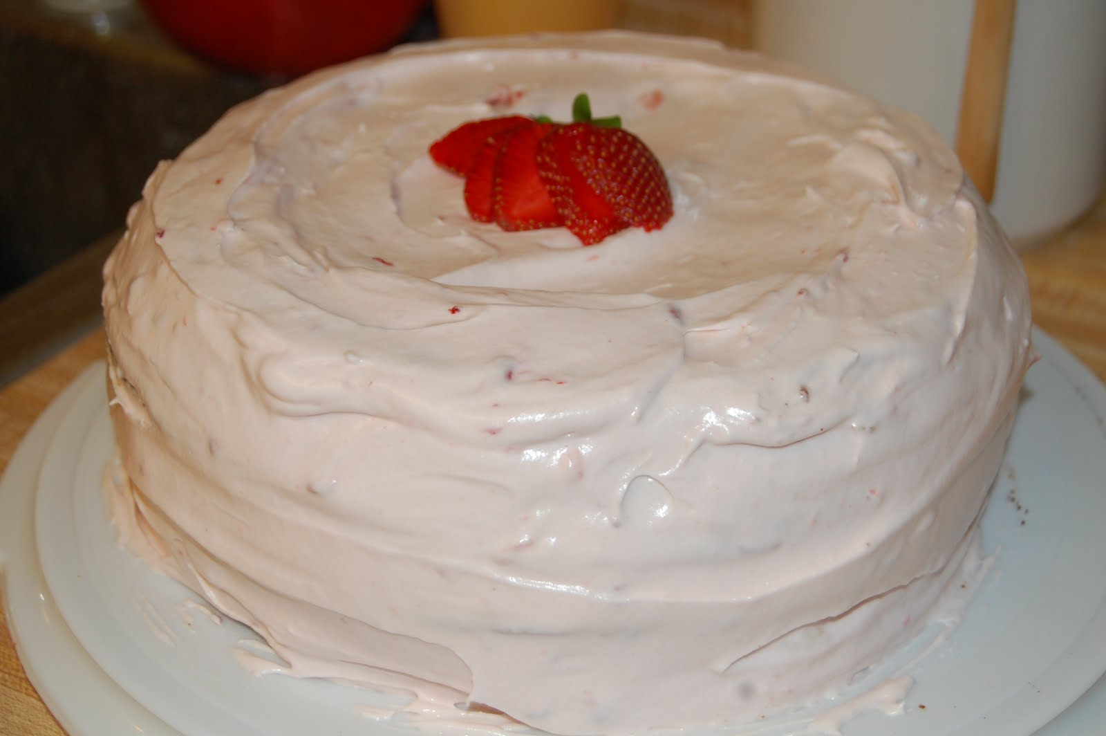 Strawberry Homemade Cakes Viewing Gallery