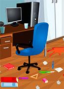 Уборка в офисе - Онлайн игра для девочек