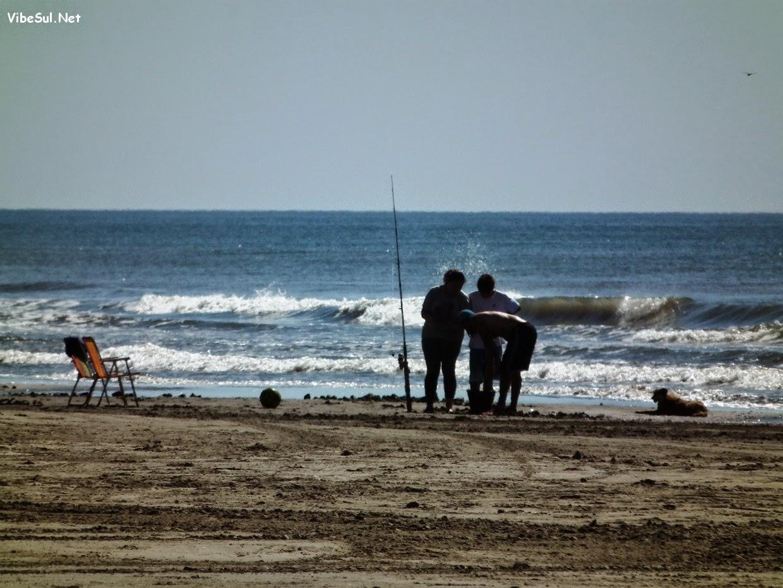 Imagens do domingo 15/11 na Praia do Mar Grosso