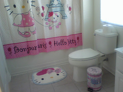 Hello Kitty Bathroom Idea