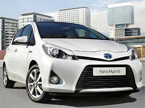 2013 Toyota Yaris Hybrid Download Gambar Mobil