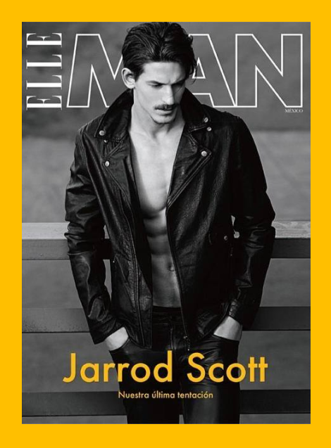 Jarrod Scott by Santiago Roiseñor for Elle Man