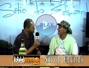 Confira a entrevista sobre o Sítio do Eduardo na ExpoSítio 2011 Lagoa Santa: