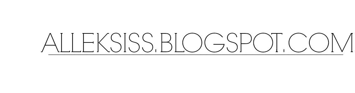 alleksiss.blogspot.com