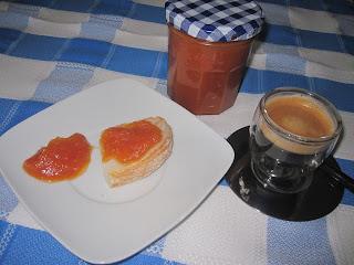 doce Compota de pera e cenoura