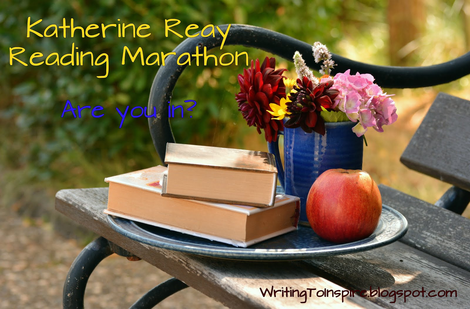 Katherine Reay Reading Marathon