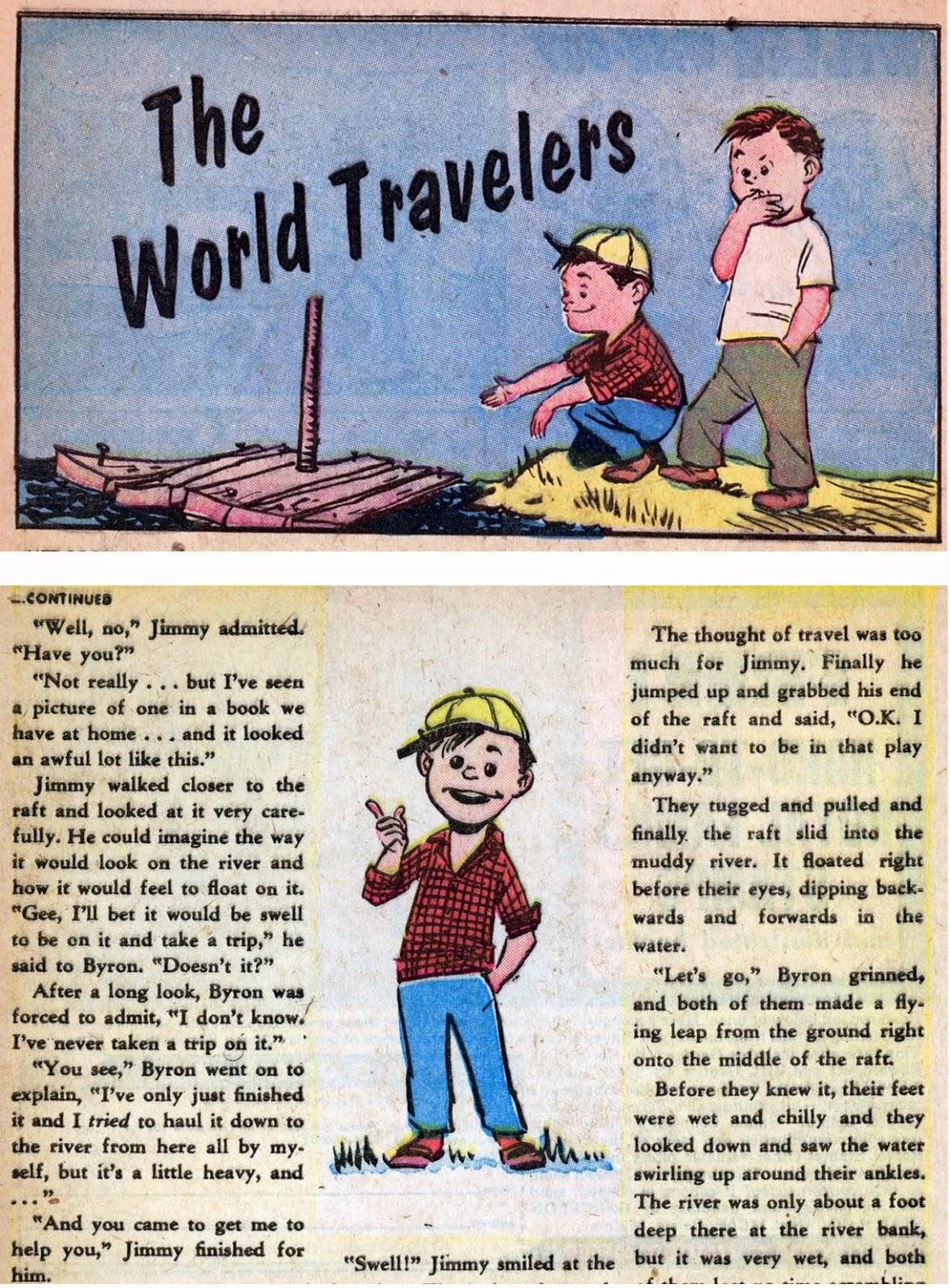 Cartoon Kids 1 text page illos