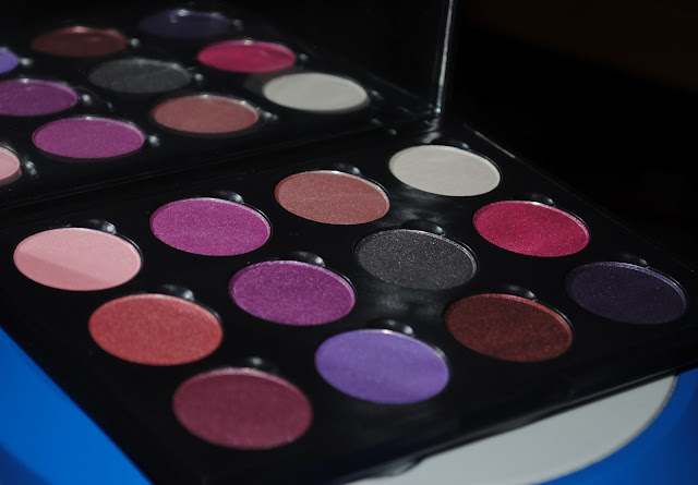 Coastal Scents Winterberry Palette Swatches