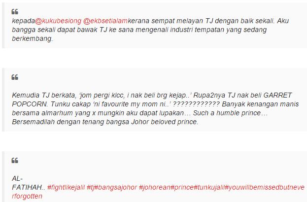 Garrett Popcorn Kegemaran Raja Zarith Sofiah Ibunda Almarhum Tunku Abdul Jalil