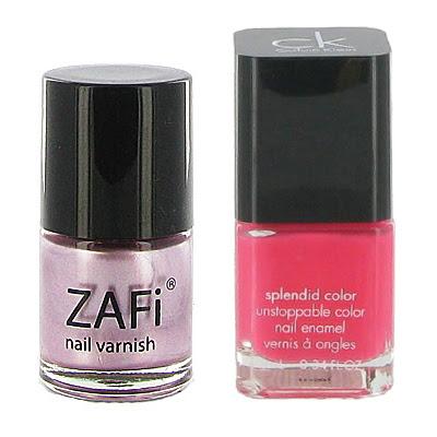 Calvin Klein лак за нокти ярко розово
