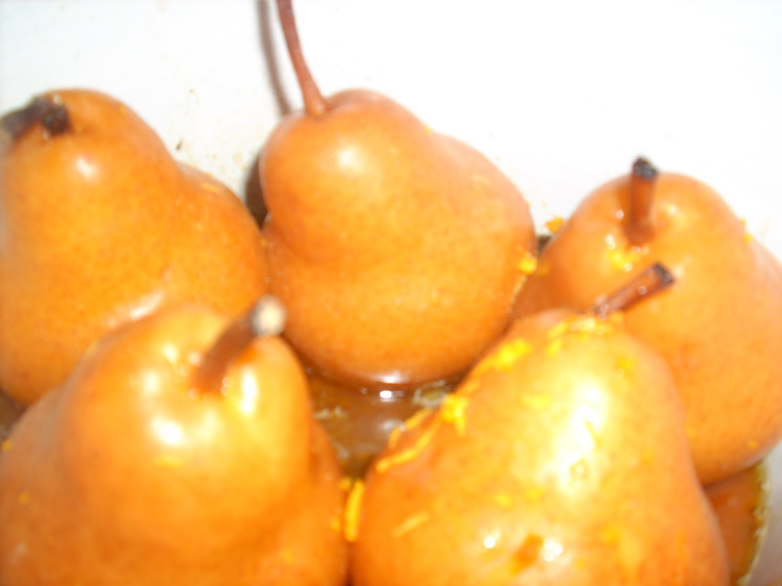 Recipe is Likened...: Caramelized Pears and Salad