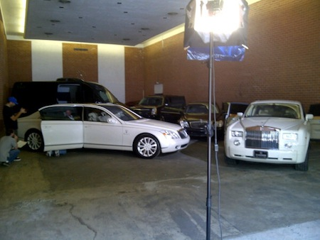 Kardashian  on Kim Kardashian   S Wedding Cars  Fleets  Rolls Royce Garage Car