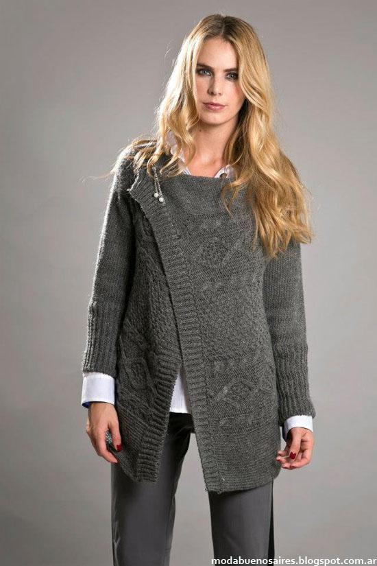 Otoño invierno 2013 sweaters tejidos