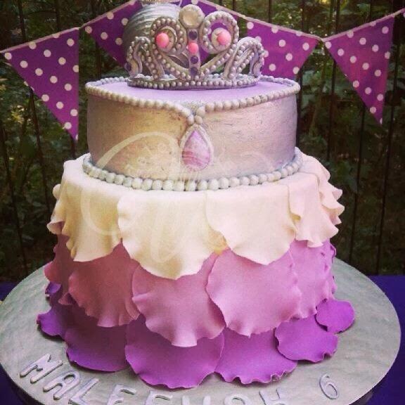 Pastel de Princesa Sofía Primera.