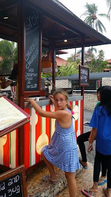 Churros en Kuta (Bali)