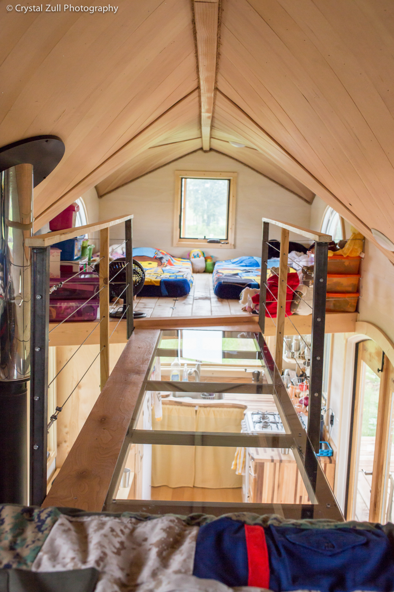 The big mini life here she is beautiful inside out for Tiny house two bedroom