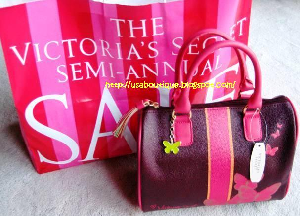 USA Boutique Victoria Secret Butterfly Satchel Free Lip