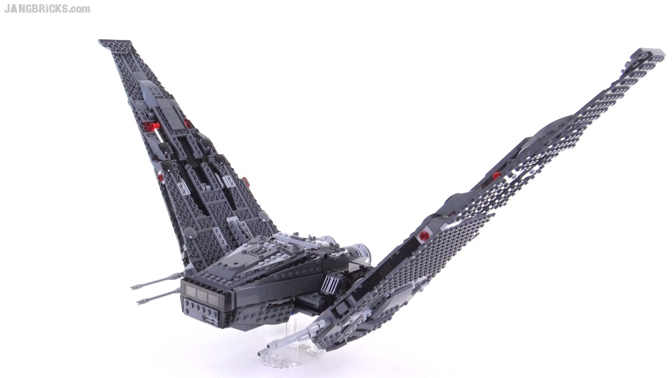 Lego Star Wars Kylo Rens Command Shuttle Folding Wings