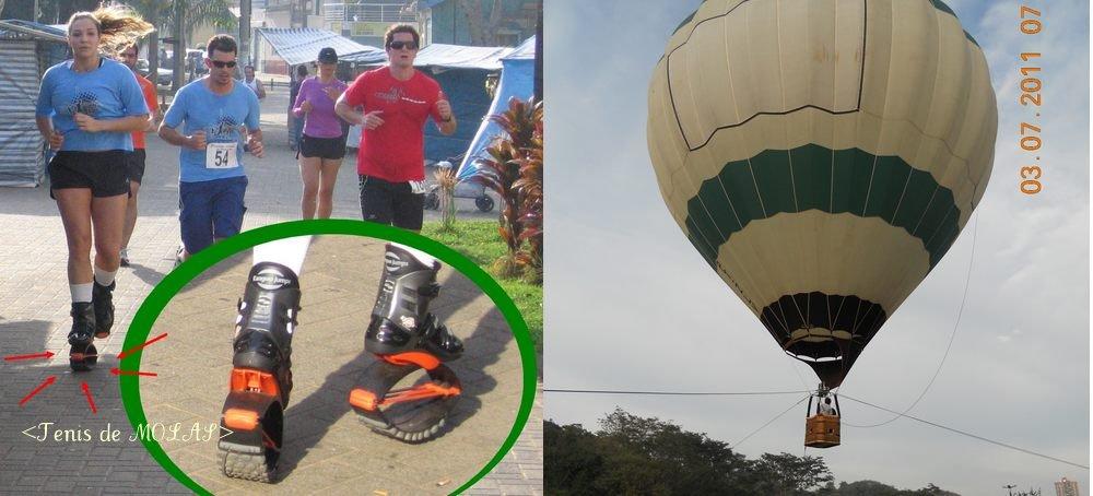 a22ce50143 Foi uma festa teve até balão e tenis-mola.