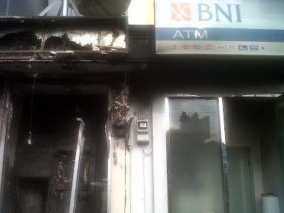 Ledakan ATM Sleman
