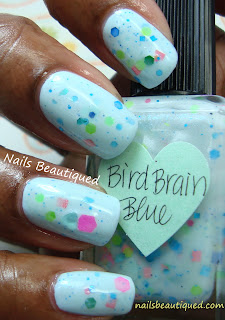 Lynnderella Bird Brain Blue