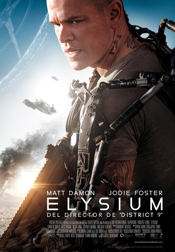 Póster final de Elysium