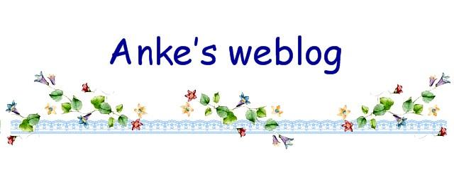 Anke's weblog