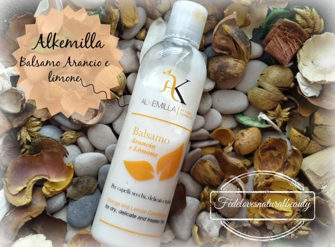 Alkemilla Eco bio cosmetics: Balsamo arancio e limone