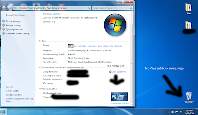 Tips & Tricks: Windows 7 Build 7601 not genuine after installing