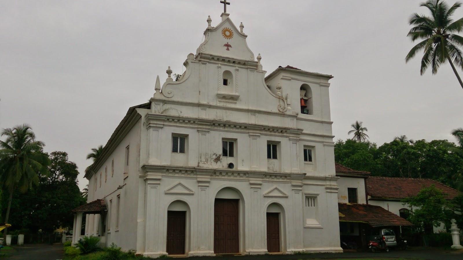 Holy Trinity Church Nagao Arpora Goa