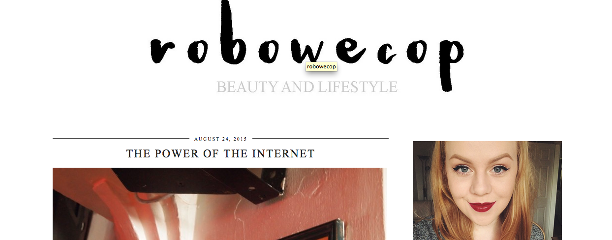 Robowecop A Blog I Love When Feeling... LONELY