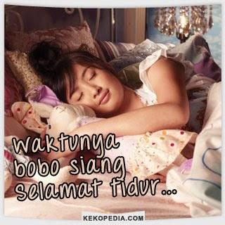 Gambar Dp BBM Tidur Siang