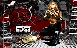 edge in action WWE Desktop Wallpaper