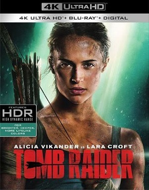 Tomb Raider - A Origem 4K Ultra HD Filmes Torrent Download capa