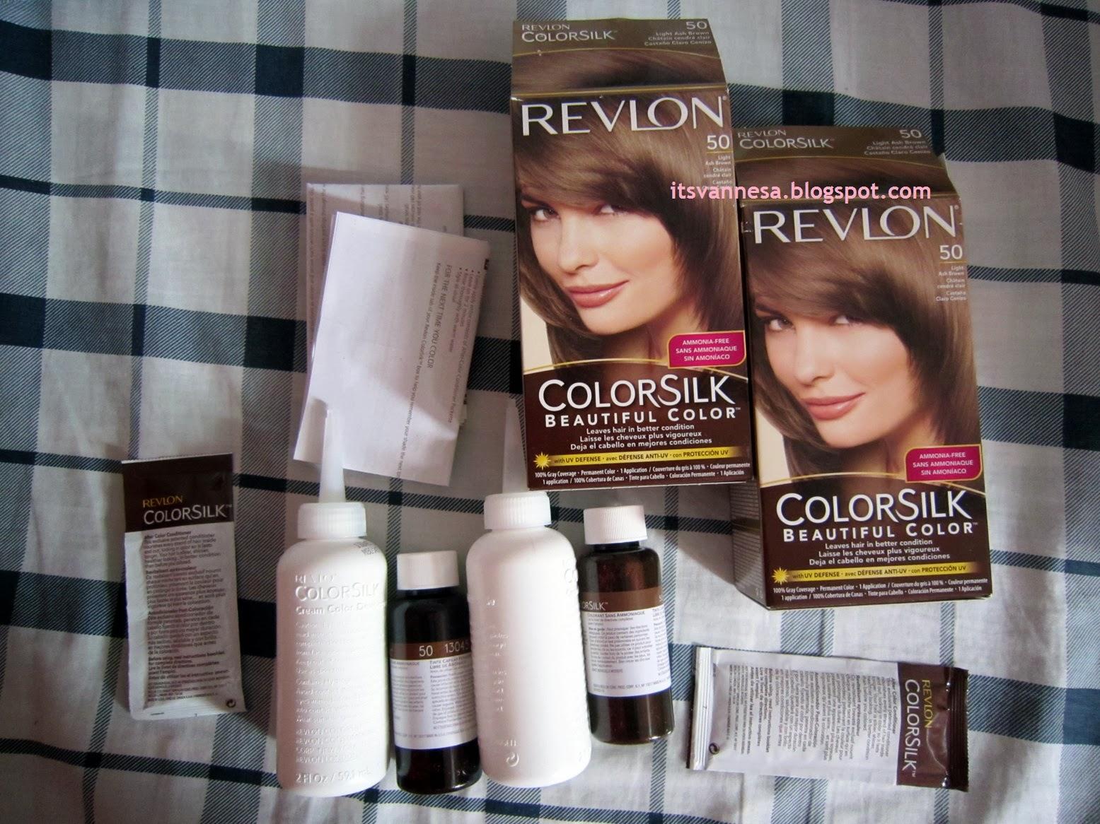 Vanne San Pedro Coloring My Hair Revlon Colorsilk Beautiful Color