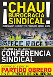 Resoluciones Conferencia Sindical 2012