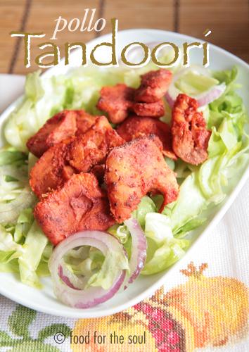 pollo tandoori in versione furba e completa