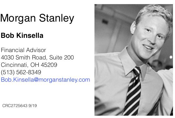 Bob Kinsella, Morgan Stanley