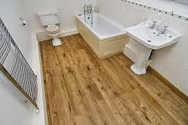Kids bathrom flooring