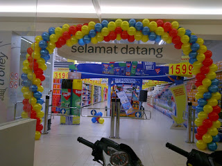 dekorasi balon - gate