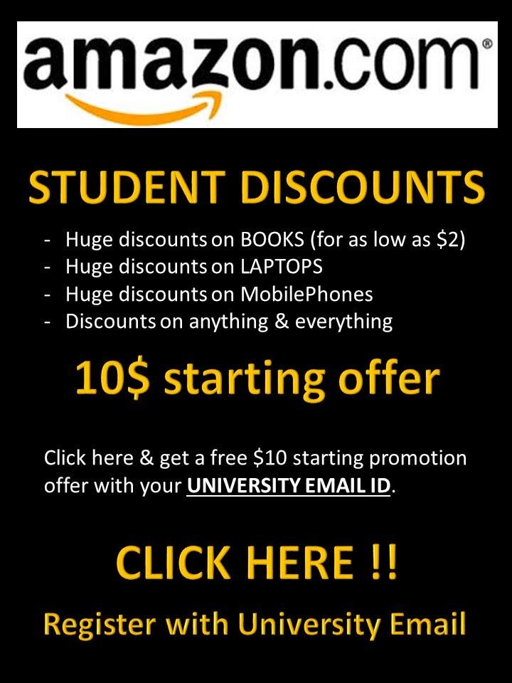Amazon Student Discounts