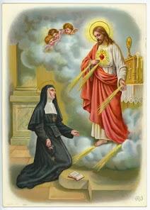 SANTA MARGARITA MARIA DE ALACOQUE Y LAS 12 PROMESAS DEL SAGRADO CORAZÓN DE JESÚS