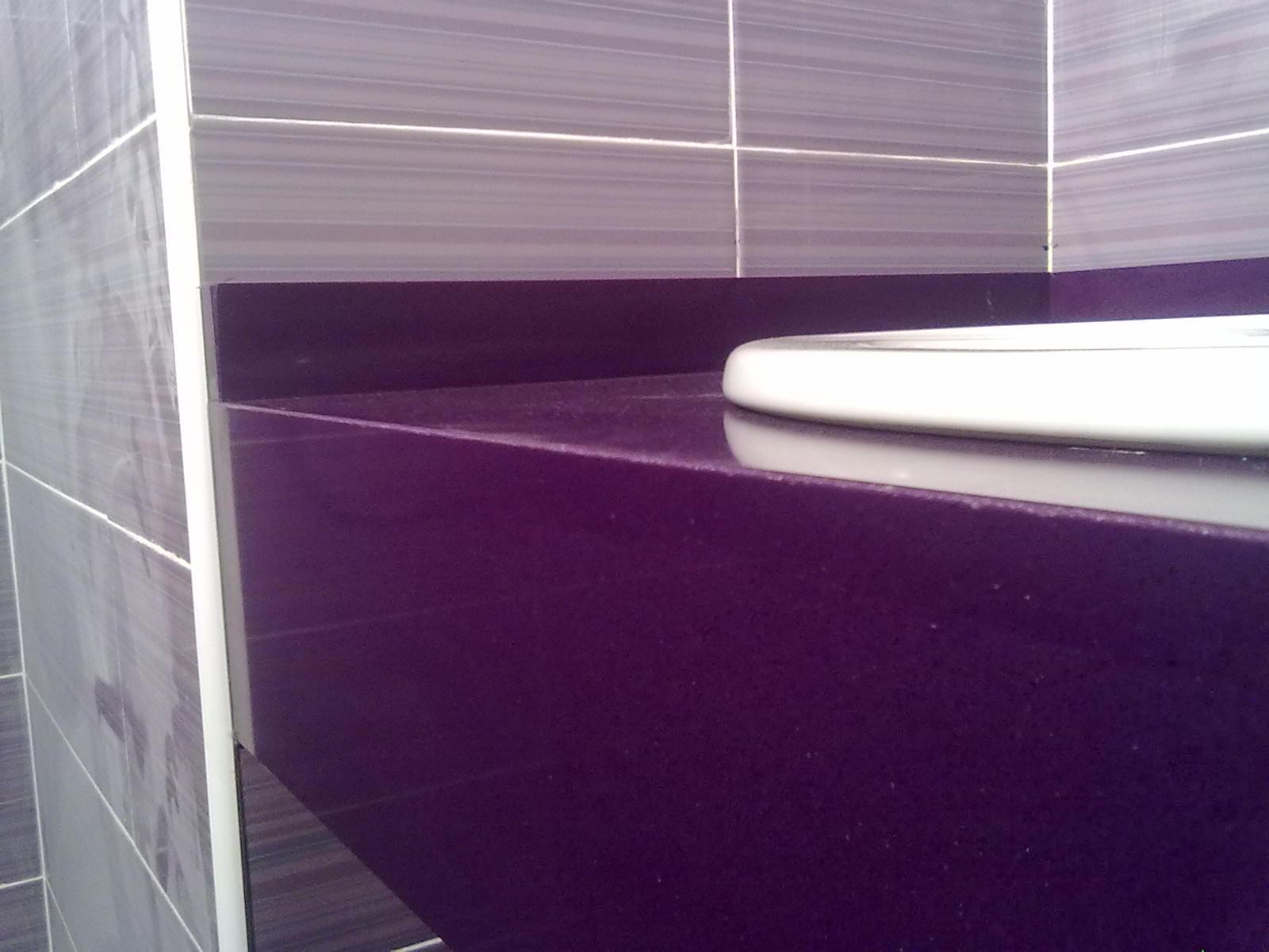 Marmoles vedat s l u encimera lavabo compac quartz lila - Colores encimeras compac ...